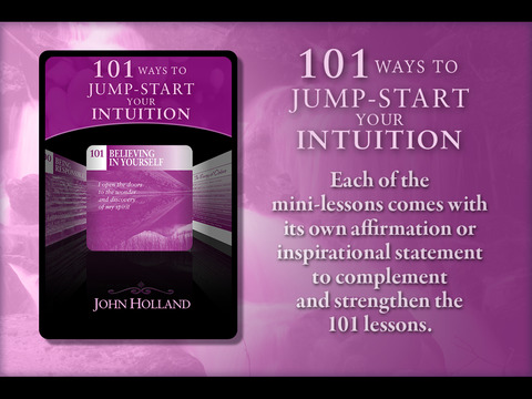 101 Ways to Jump Start Your Intuition - John Holland screenshot 6