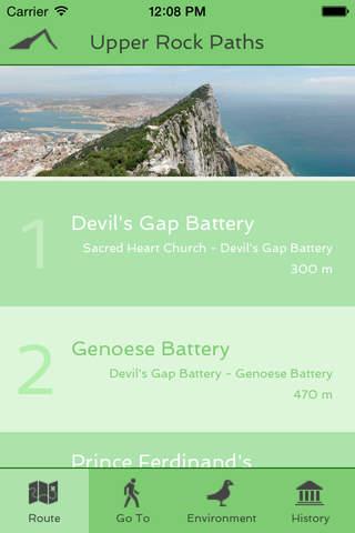 Gibraltar Upper Rock Paths - náhled
