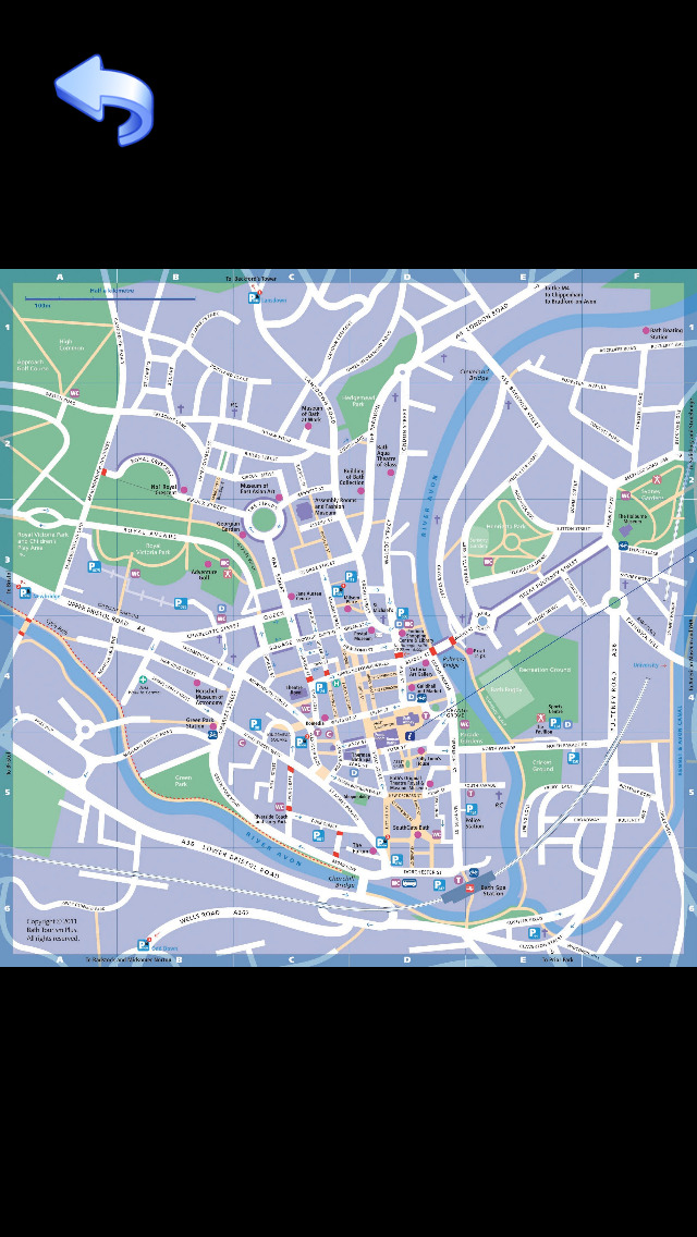 Bath Tour Guide: Best Offline Maps with Street View and Emergency Help Info screenshot 3