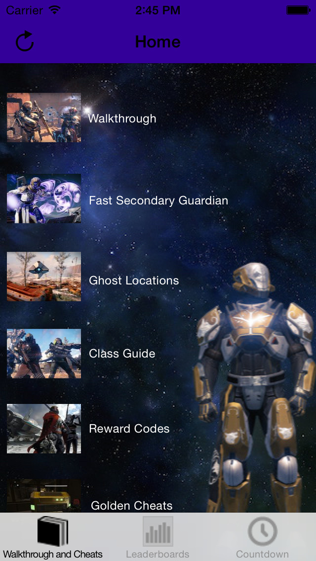 Guide Pro for Destiny screenshot 1
