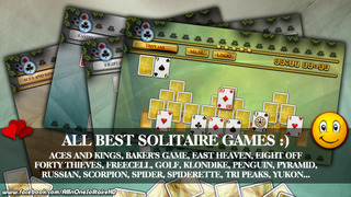 Pandora's Solitaire Collection screenshot 1