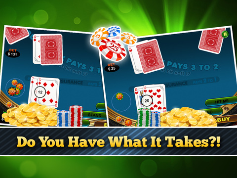Lucky Black Jack Casino Card Shark Win Master Free screenshot 8