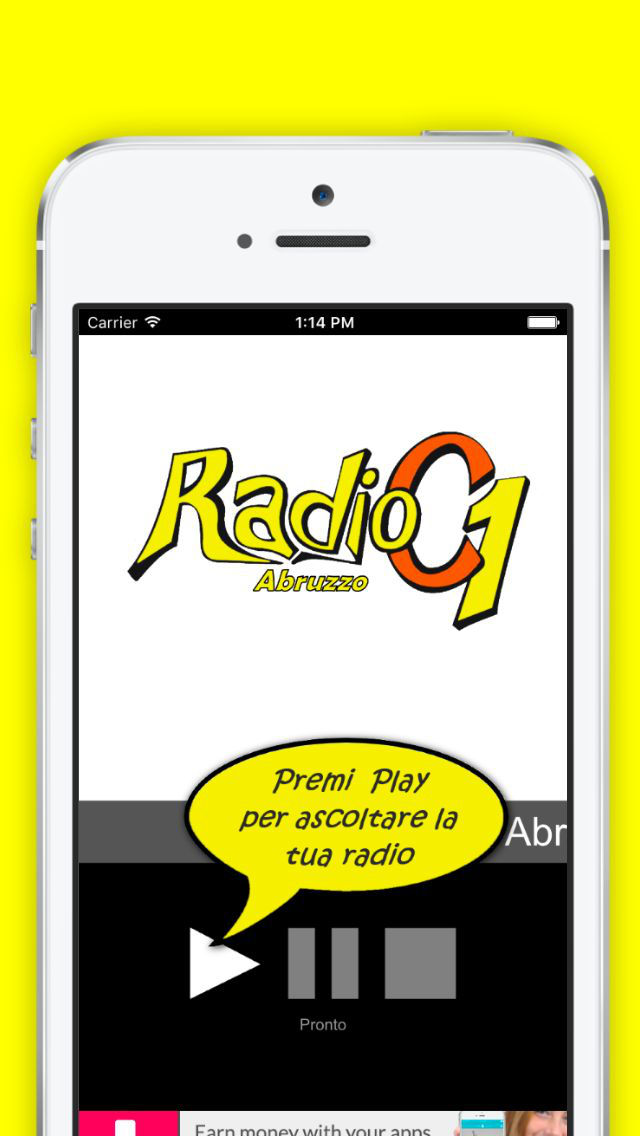 Radio C1 Abruzzo screenshot 1
