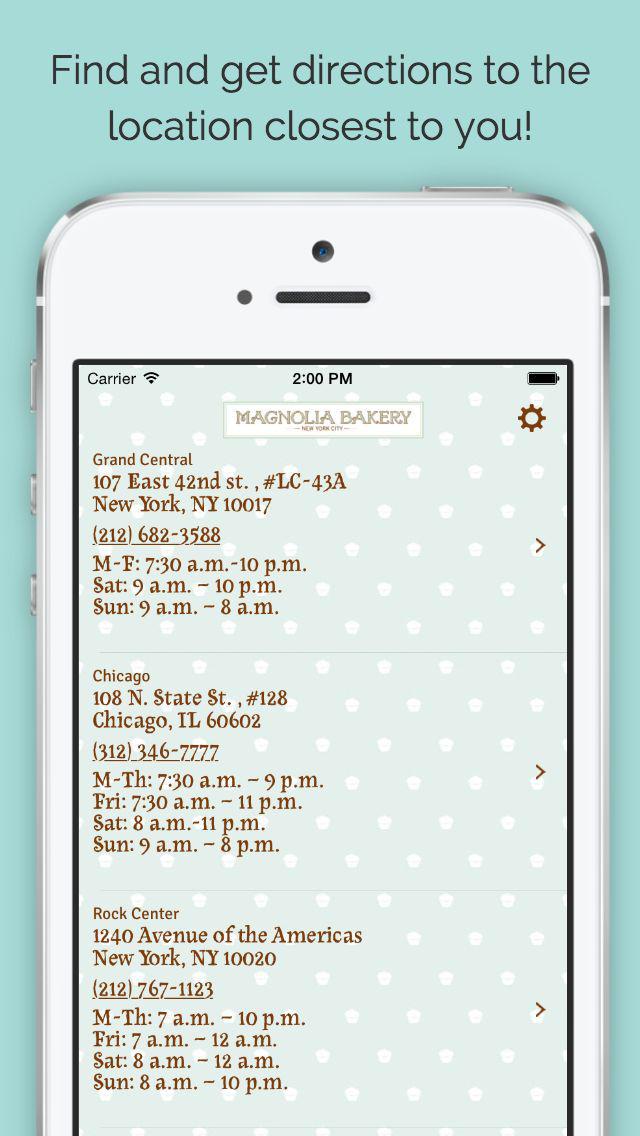 Magnolia Bakery screenshot 3