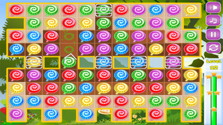 Sweet Candies Ad-Free - Lollipop Candy Match-3 Puzzle Game screenshot 2