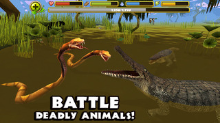 Wildlife Simulator: Crocodile screenshot 2