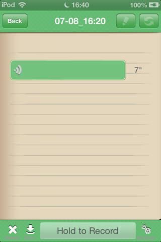 Handwriting Note Lite - náhled
