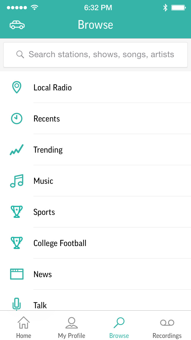 TuneIn Pro - Radio & Sports screenshot 2