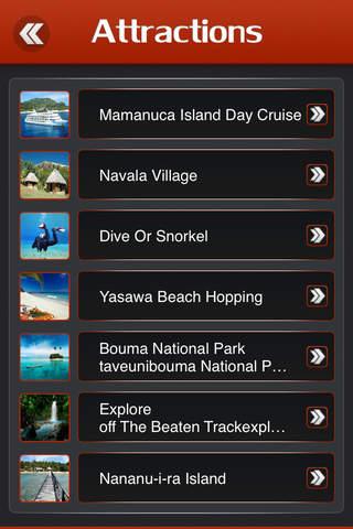 Fiji Offline Travel Guide - náhled