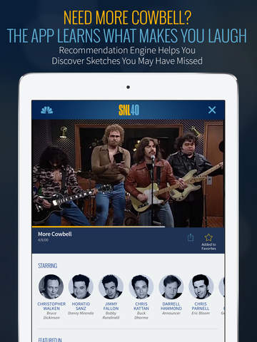 SNL: The Official Saturday Night Live App from NBC screenshot 8