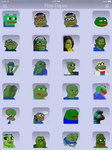 Rare Pepes for SMS (Sad Frog) screenshot 9