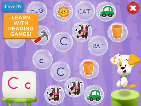 Bubble Puppy: Play and Learn for iPad - Bubble Guppies Kids Game screenshot 3