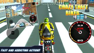 Crazy Theft Biker screenshot 3