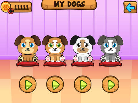 My Virtual Dog ~ Pet Puppy Game for Kids, Boys and Girls screenshot #2