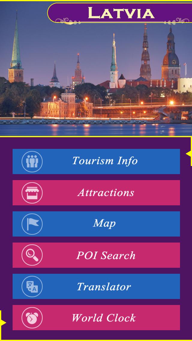 Latvia Tourism Guide screenshot 2