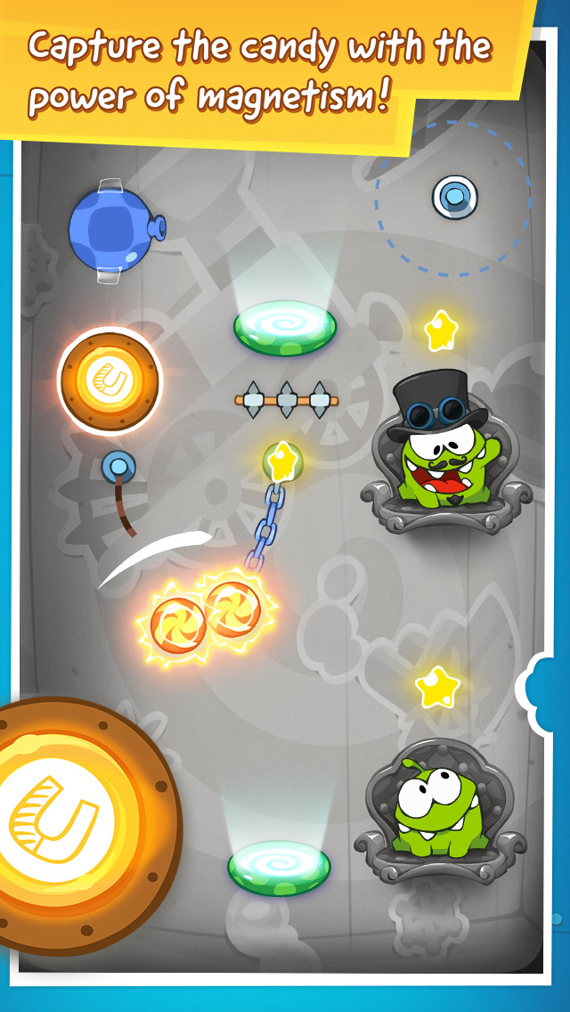 Cut the Rope: Time Travel GOLD screenshot 2