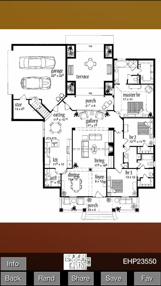 European House Plans screenshot 3