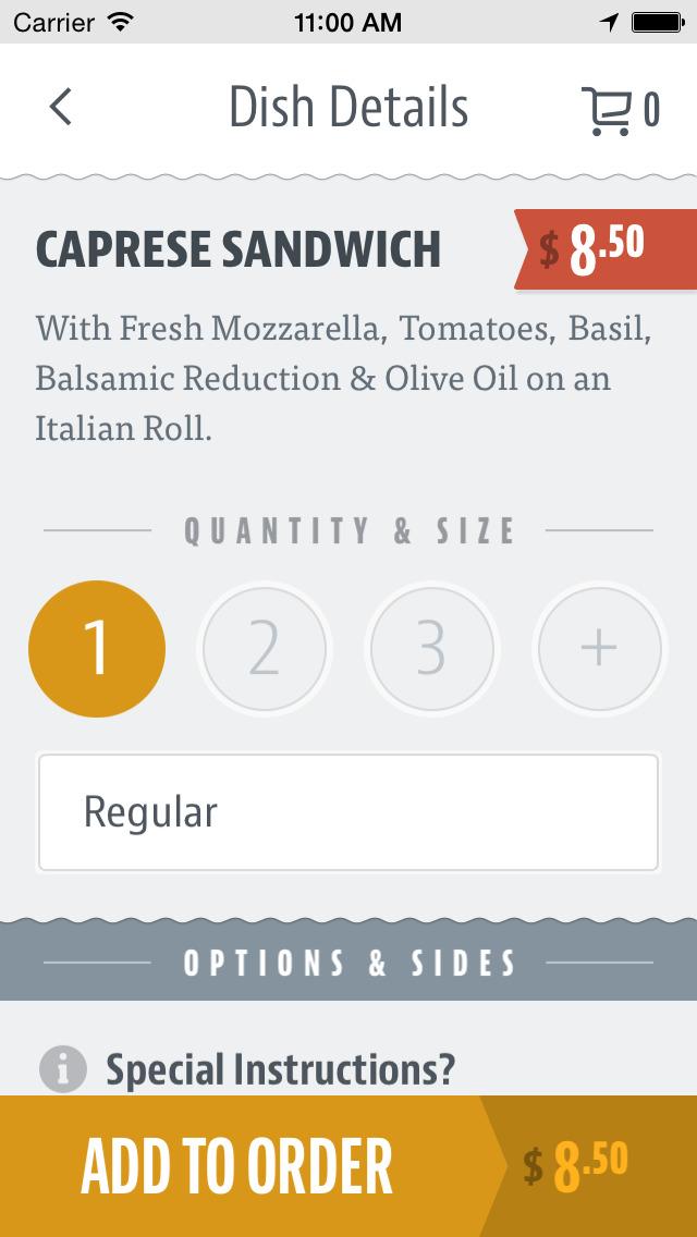 Porta Via Italian Foods screenshot 3