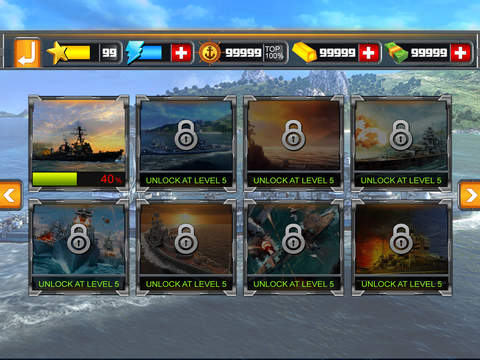 Sea Battleship Combat 3D screenshot 9