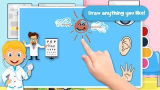 Free Kids Puzzle Teach me Hospital - Learn how to be a doctor or a nurse screenshot 4