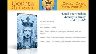Goddess Guidance Oracle Cards - Doreen Virtue, Ph.D. screenshot 3