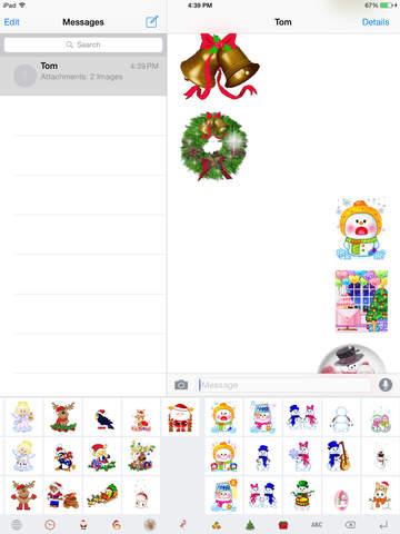 Christmas Gif Keyboard - Fully Animated Emoji for Christmas screenshot 7