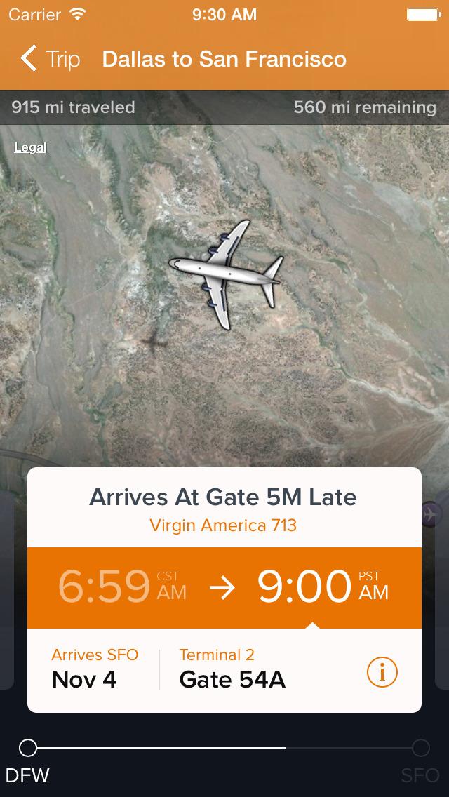 FlightTrack 5 screenshot 3