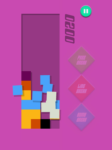 Crack & Pop Tile - Connect And Match Three Square Colors screenshot 6