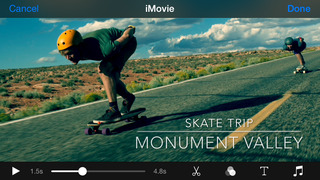 iMovie screenshot 5