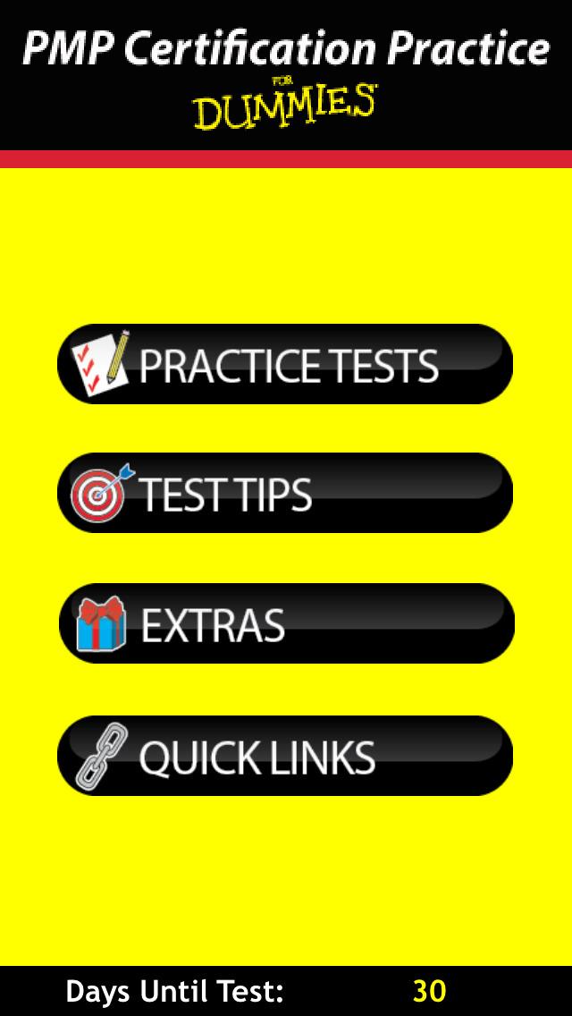 PMP Certification Exam Practice For Dummies screenshot 1
