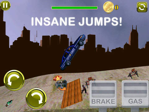 3D Earn Respect Evil Zombies Die - Go Monster Car Highway and Simulator Driving Offroad Race Chase Ad Free screenshot 9