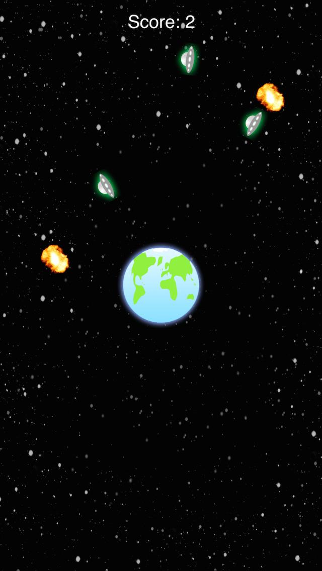 Earth Defend Lite screenshot 3