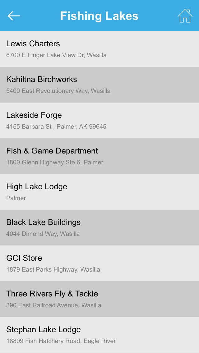 Alaska Fishing Lakes screenshot 5