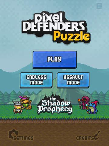 Pixel Defenders Puzzle screenshot 6