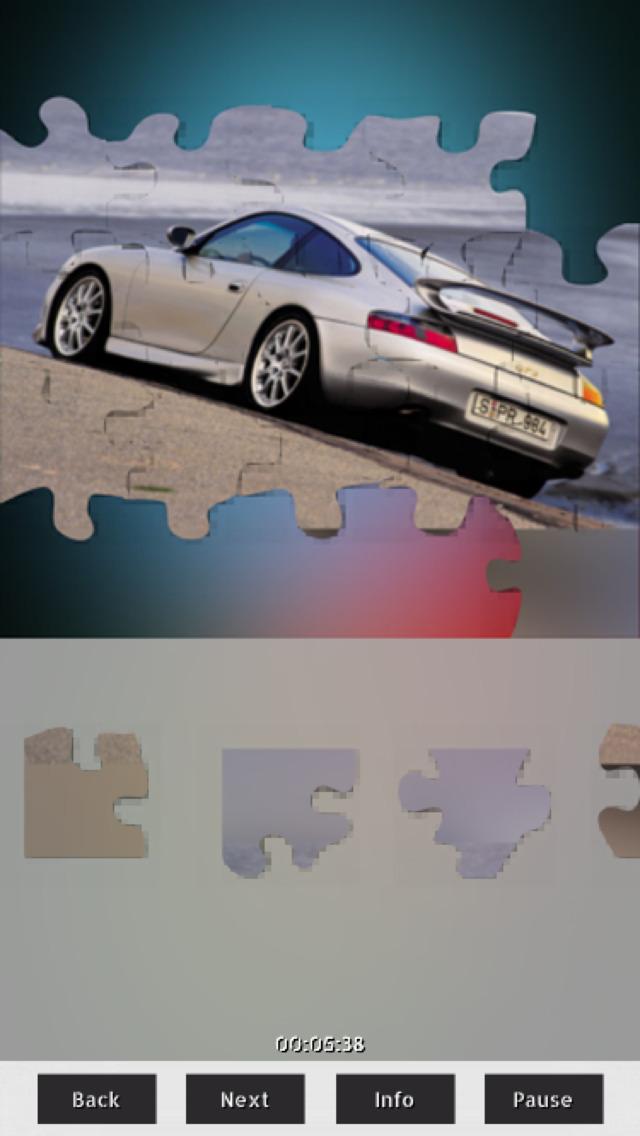 Cars Puzzles+ screenshot 2