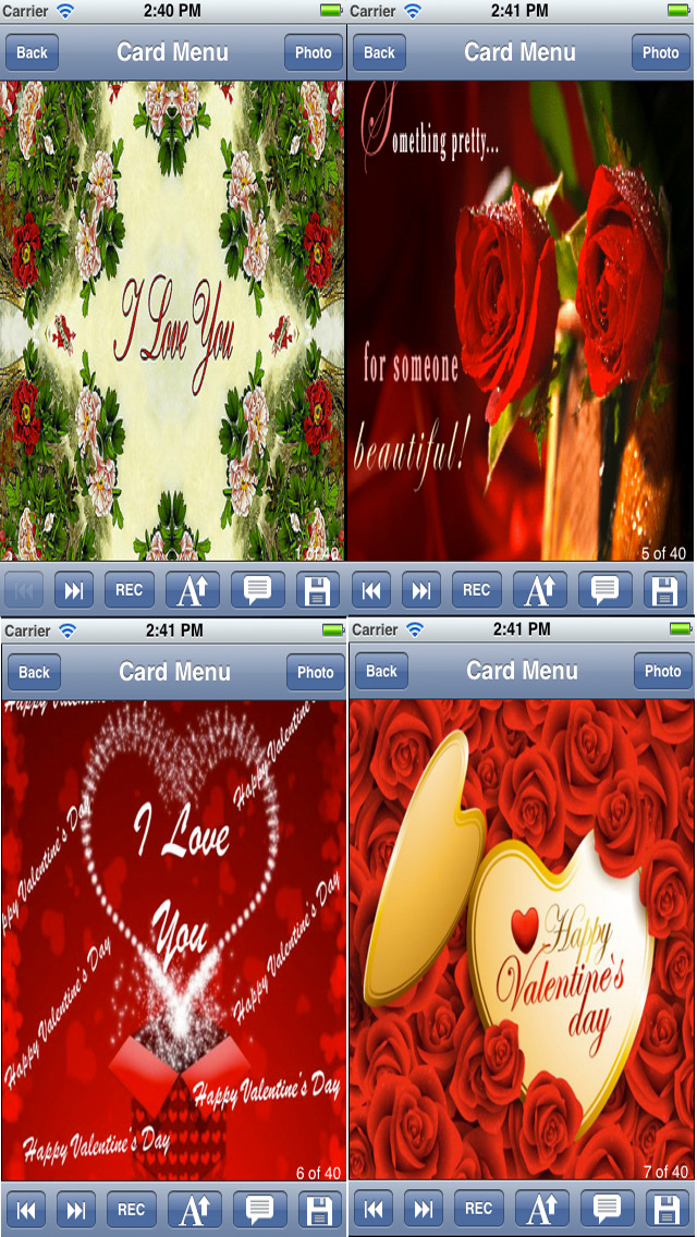 Flowers Love Cards screenshot 3