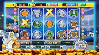 A Zeus Greek God High Roller Las Vegas Casino Slots screenshot 1