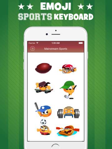Sports Emoji Keyboard PRO screenshot 7