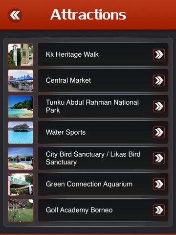 Kota Kinabalu Offline Travel Guide screenshot 8