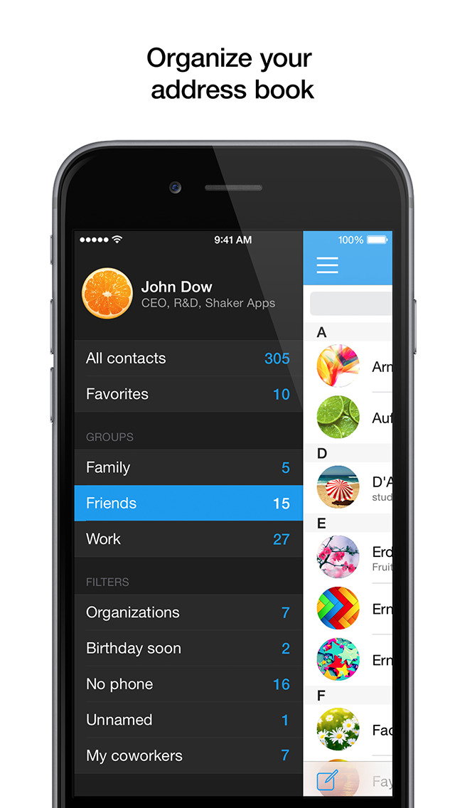 PhoneBook Pro screenshot 1