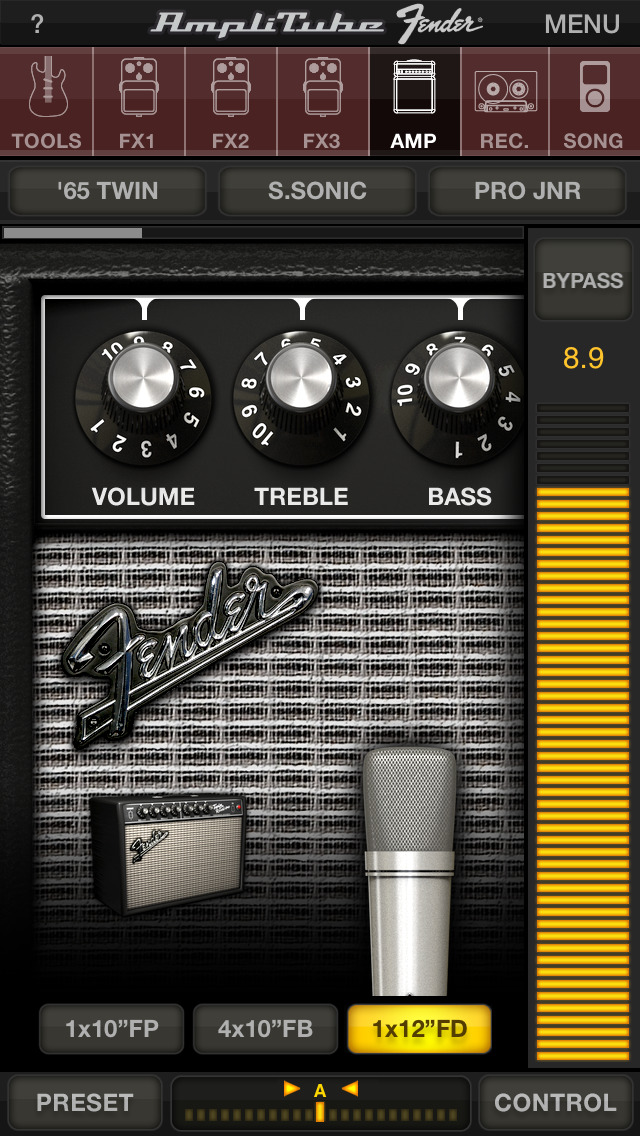 AmpliTube Fender™ FREE screenshot 1