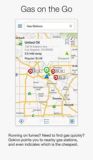 Gokivo GPS Navigator screenshot 2