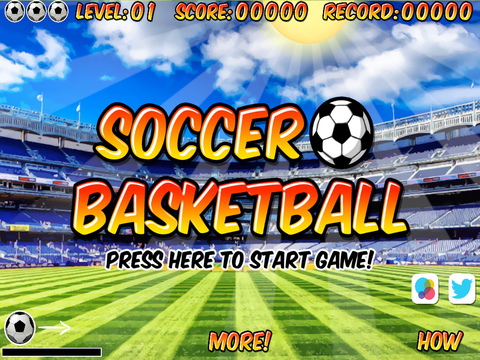 Soccer Basketball FREE screenshot 6