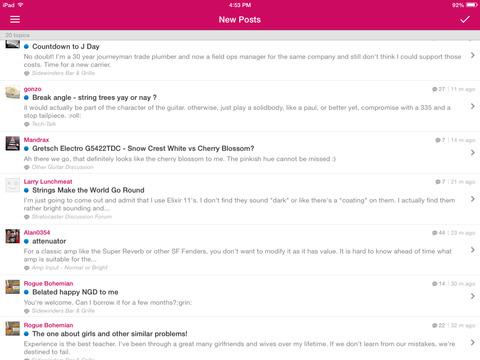 Strat-Talk Forum App screenshot 6