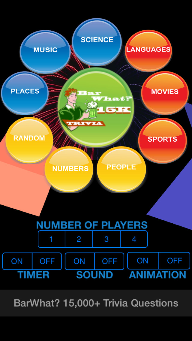 BarWhat? 15000+ Trivia Game screenshot 2
