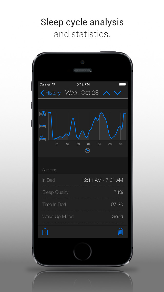 Clever Alarm Clock Free (Sleep Cycle Tracker) screenshot 4
