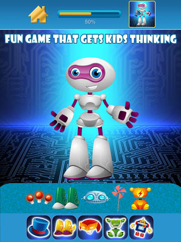 My Little World of Real Robots Copy And Create Free Game App screenshot 6