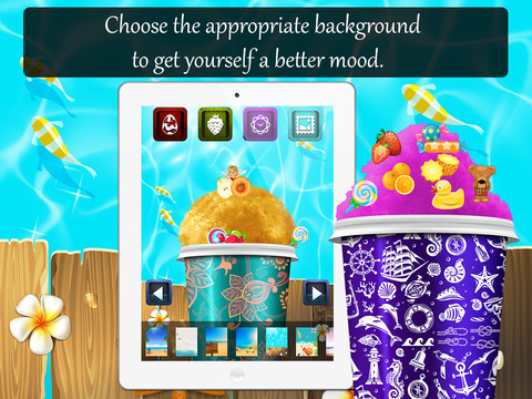 Snow Cone Machine Lite screenshot 10