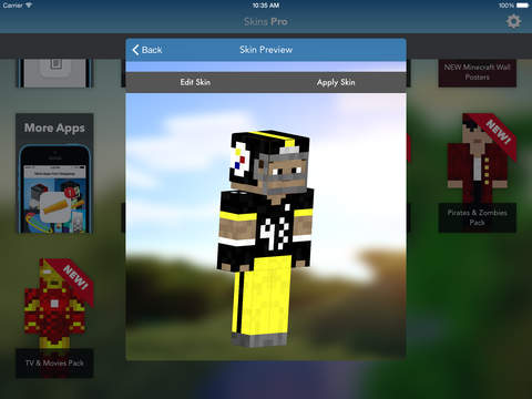 Skins Pro for Minecraft (Unofficial) screenshot 9