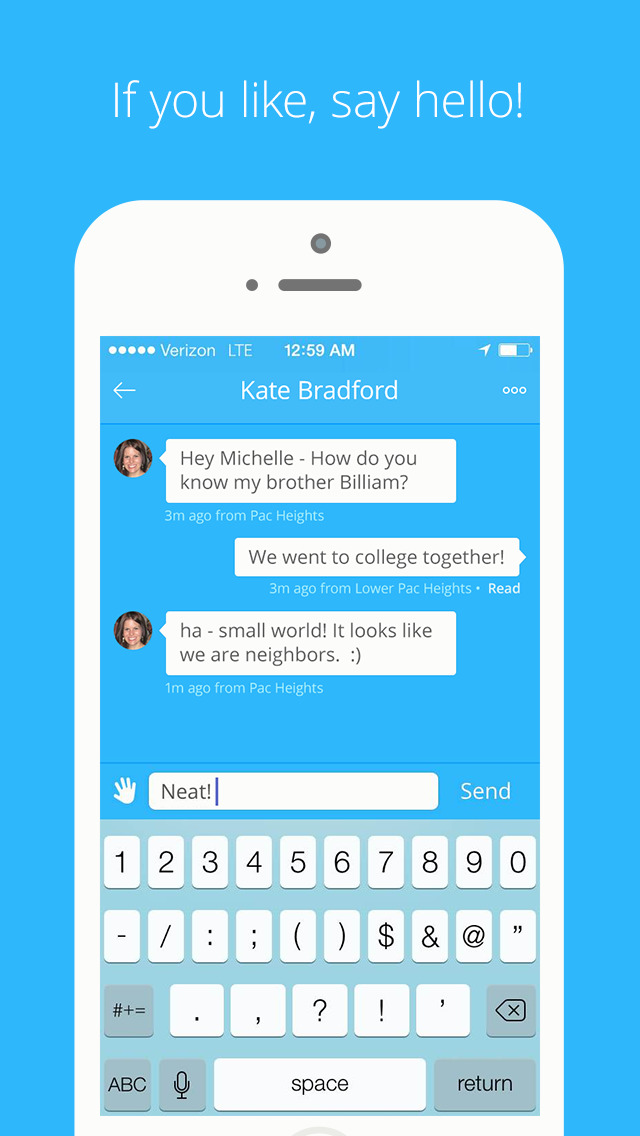 Highlight - Meet New People, Find and Connect with Friends Nearby screenshot 4